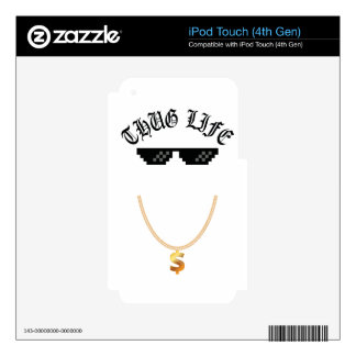 Thug Life iPod Touch 4G Skin