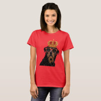 Thug Life King Rottweiler for Rottweiler Parents T-Shirt