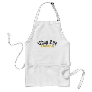 Thug Life Omaha Adult Apron