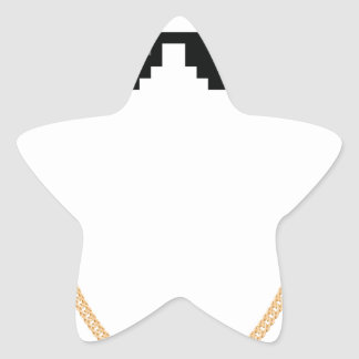 Thug Life Star Sticker