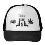 THUG    LIFE TRUCKER HATS