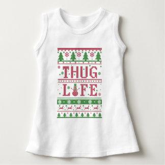 Thug Life Ugly Christmas Dress