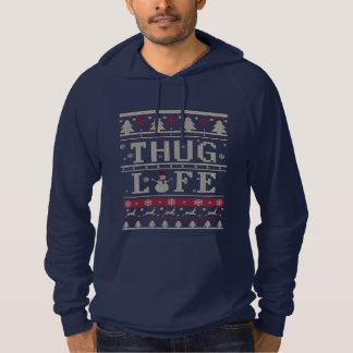Thug Life Ugly Christmas Hoodie