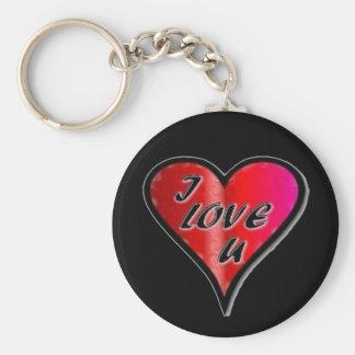 Thug love chain keychain