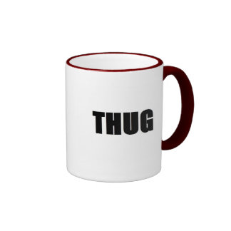 thug ringer coffee mug