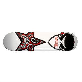 Thug Skull Star Skateboard Deck