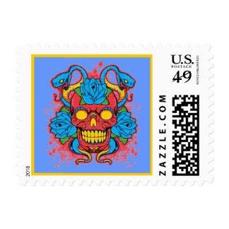 Thug snake stamp