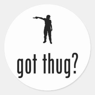Thug Stickers