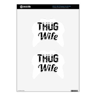 Thug Wife Xbox 360 Controller Skin