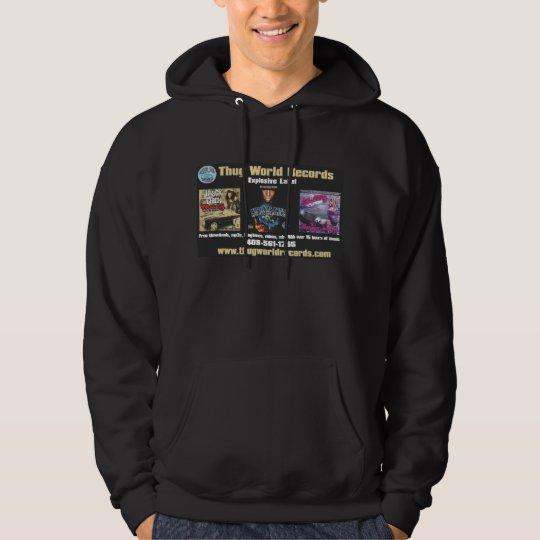 thug world hood hoodie