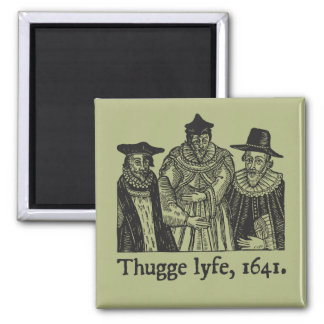 Thugge lyfe (magnet) 2 inch square magnet