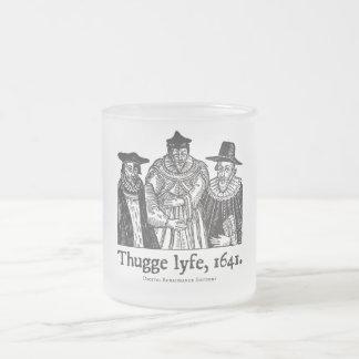 Thugge lyfe (mug) 10 oz frosted glass coffee mug