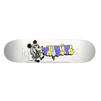 thuglife mice skateboard deck