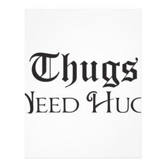 Thugs need hugs letterhead