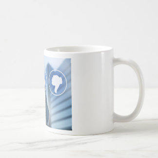 thumb icons for Customer review concept Coffee Mug