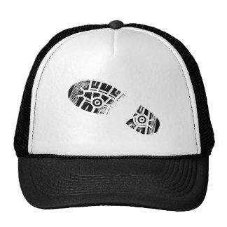 Thumb Prints Foot Art Shoe Sole Trucker Hat