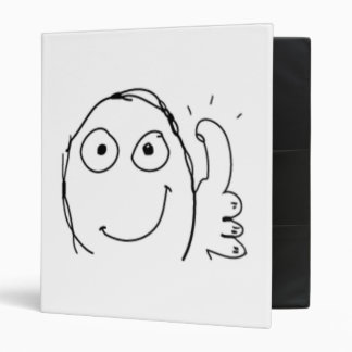 Thumb up Comic Meme. Binder