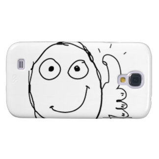 Thumb up Comic Meme. Galaxy S4 Case