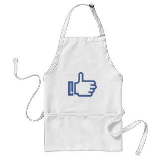 Thumb Up Symbol Adult Apron