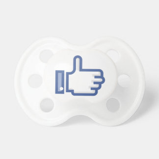 Thumb Up Symbol Pacifiers
