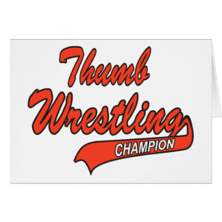 Thumb Wrestler Gift Card