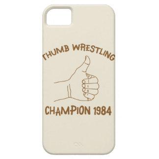 Thumb Wrestling Champion 1984 Vintage iPhone SE/5/5s Case