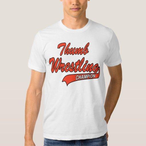 thumb wrestling t shirt