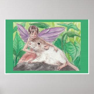 Thumbalina y la rata póster