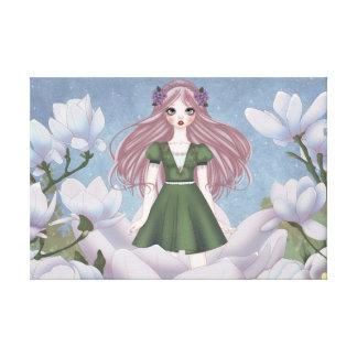 Thumbelina Doll Lona Estirada Galerías