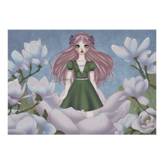 Thumbelina Doll Poster