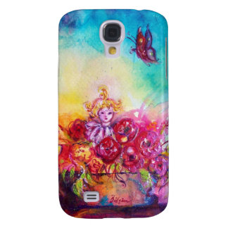 THUMBELINA ,FLOWER BASKET AND BUTTERFLY SAMSUNG GALAXY S4 COVERS