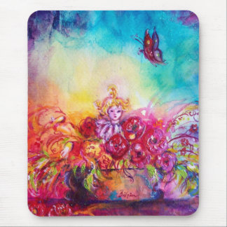THUMBELINA,FLOWER BASKET AND BUTTERFLY MOUSE PAD