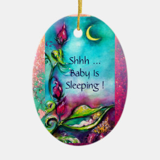 THUMBELINA ,FLOWER BASKET AND BUTTERFLY CHRISTMAS TREE ORNAMENT