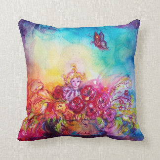 THUMBELINA  FLOWER BASKET AND BUTTERFLY PILLOW
