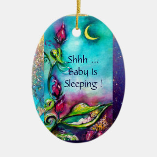 THUMBELINA PINK RUBY MONOGRAM DOOR HANGER CHRISTMAS ORNAMENTS