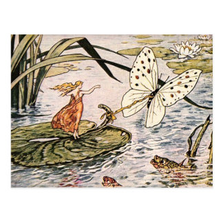 """Thumbelina"" Postcard"