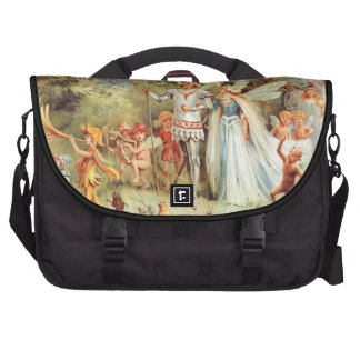 Thumbelina s Wedding in the Forest Bag For Laptop
