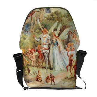 Thumbelina s Wedding in the Forest Courier Bag