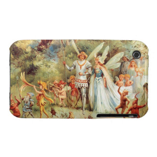 Thumbelina's Wedding in the Forest iPhone 3 Case-Mate Case