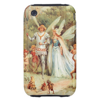 Thumbelina's Wedding in the Forest iPhone 3 Tough Covers