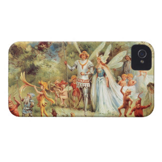 Thumbelina's Wedding in the Forest iPhone 4 Cover