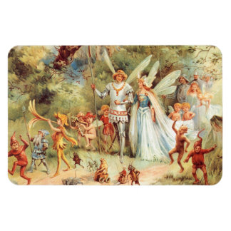 Thumbelina's Wedding in the Forest Magnet