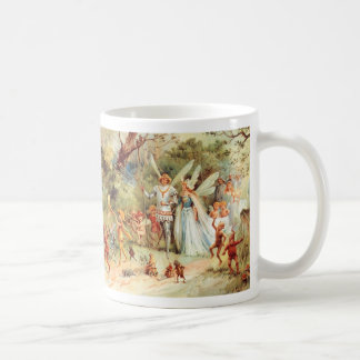 Thumbelina's Wedding in the Forest Coffee Mugs