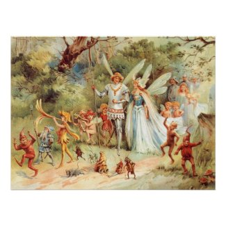 Thumbelina´s Wedding in the Forest