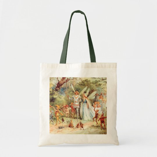 Thumbelina's Wedding in the Forest Tote Bag