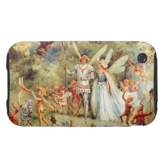 Thumbelina's Wedding in the Forest Tough iPhone 3 Case