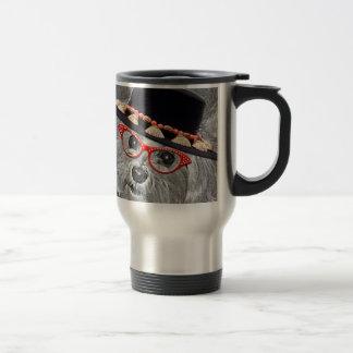 Thumbellina es mi nombre que soy un maltés hermoso taza