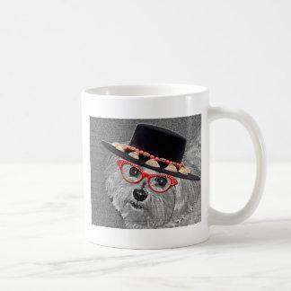 Thumbellina es mi nombre que soy un maltés hermoso tazas de café
