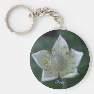 Thumble Weed, Iris Keychain