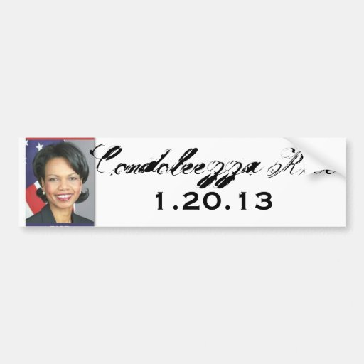 thumbnail.aspx, Condoleezza Rice, 1.20.13 Pegatina Para Auto